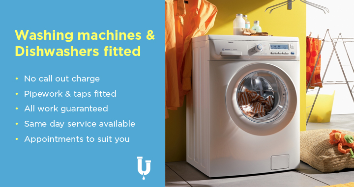 We can fit your washing machine